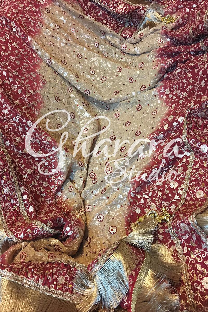 Zari resham Embroidery